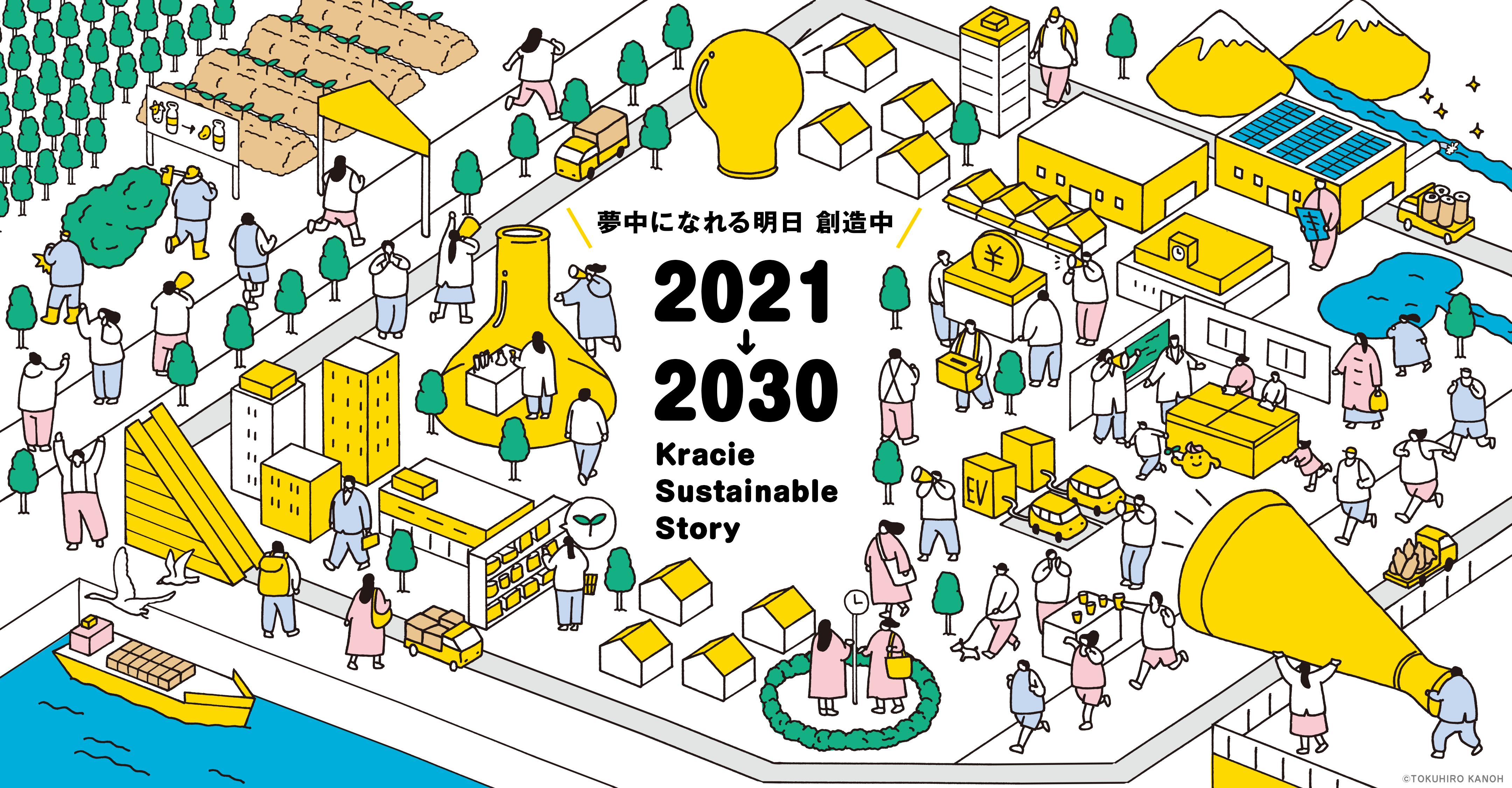 夢中になれる明日 創造中 2021↓2030 Kracie Sustainable Story